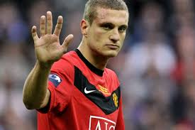 01 - N Vidic At Old Trafford